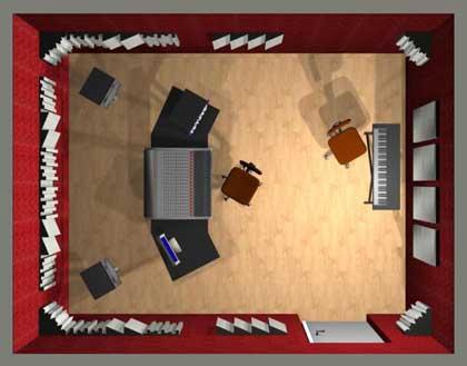 kit de traitement acoustique 1. Black Bedroom Furniture Sets. Home Design Ideas