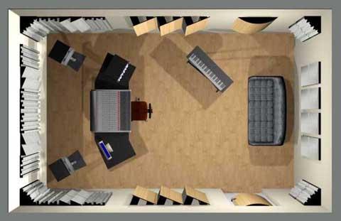 kit de traitement acoustique 3. Black Bedroom Furniture Sets. Home Design Ideas